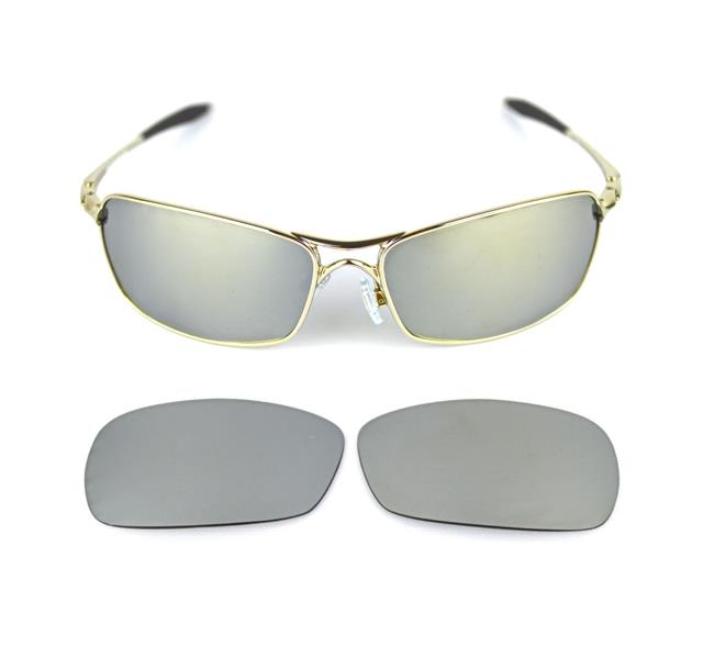 5ecfa502c9 NEW POLARIZED CUSTOM TITANIUM LENS FOR OAKLEY CROSSHAIR 2.0 SUNGLASSES