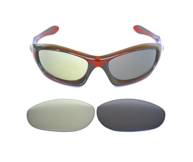 5288efa0d846 Oakley Monster Dog Lenses Ebay