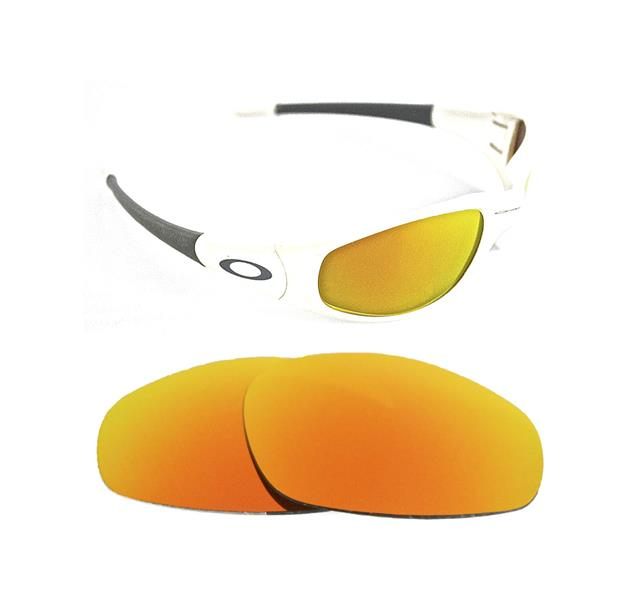 b64d44f6e4 NEW POLARIZED CUSTOM FIRE RED LENS FOR OAKLEY STRAIGHT JACKET 1996  SUNGLASSES