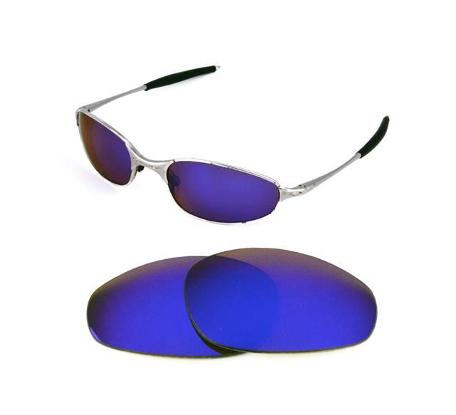 NUEVAS polarizado REPPLE azul recambio lente OAKLEY para un cable 2.0 gafas  de sol 0e40397176