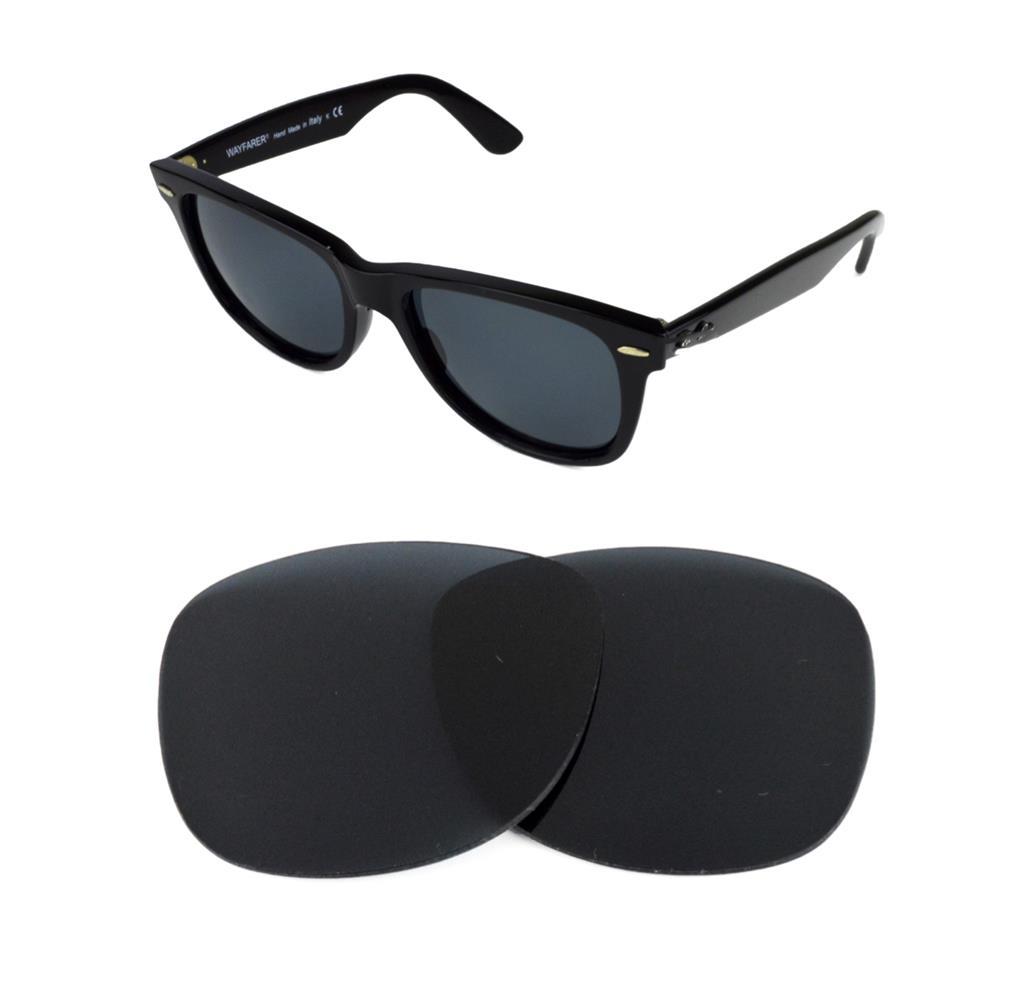 b687b5ee42 Gafas de sol de nuevo polarizado recambio negro lente ajuste RAY BAN  WAYFARER 2132 58mm