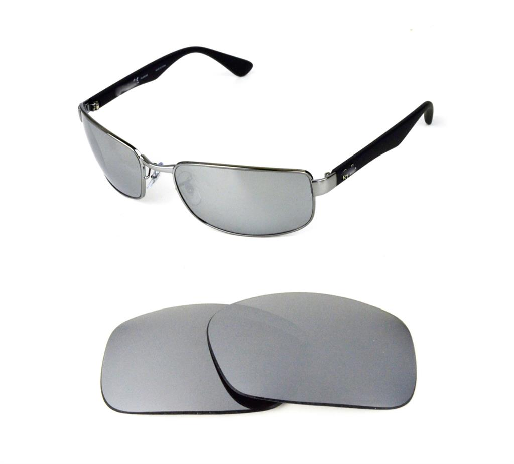 7260f93283 NEW POLARIZED REPLACEMENT SILVER ICE LENS FIT RAY BAN RB3478 63mm SUNGLASSES