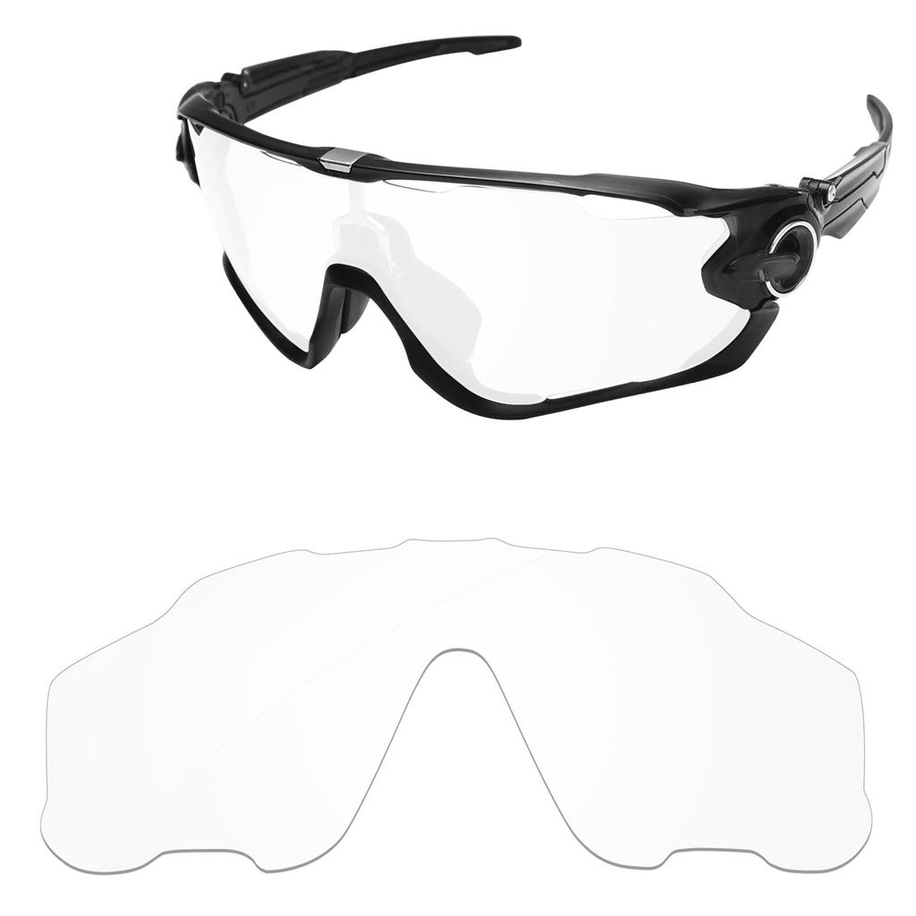 2fe80154a83 NEW REPLACEMENT CLEAR LENS FOR OAKLEY JAWBREAKER SUNGLASSES ...