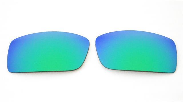 Acompatible Lentilles de remplacement pour Oakley Gascan Lunettes de soleil (non Fit Gascan S), Titanium Mirror - Polarized