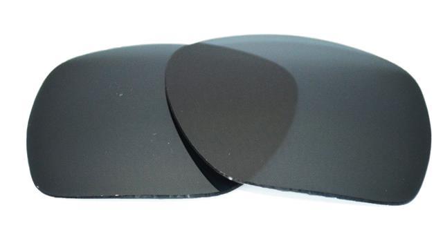 0395120424 NEW POLARIZED REPLACEMENT BLACK LENS FOR OAKLEY PLAINTIFF SQUARED  SUNGLASSES. Description Shipping