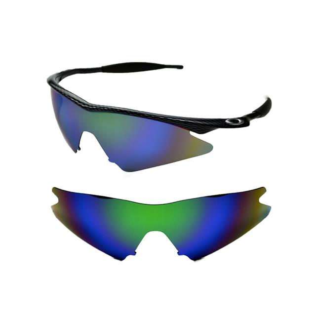 NEW POLARIZED GREEN CUSTOM SWEEP LENS FOR OAKLEY M-FRAME SUNGLASSES ...