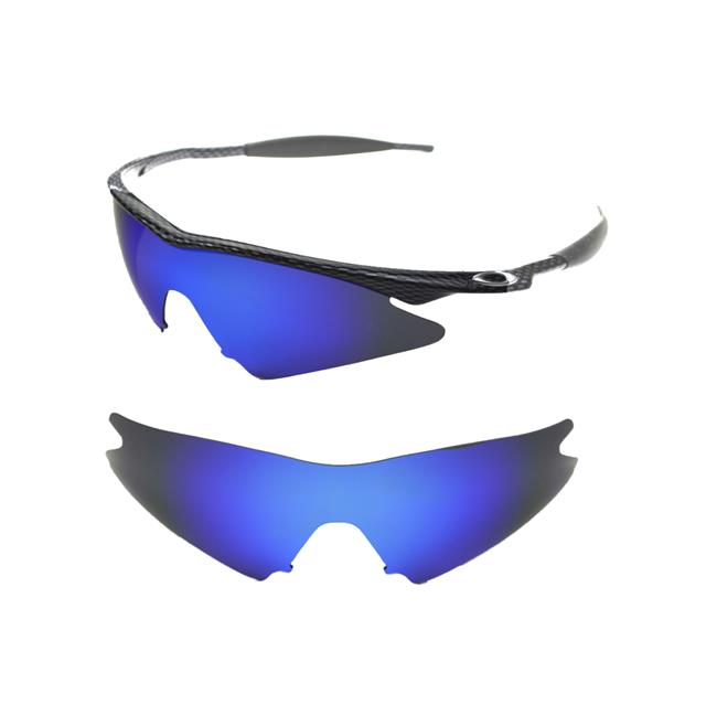 NEW POLARIZED ICE BLUE CUSTOM SWEEP LENS FOR OAKLEY M-FRAME ...