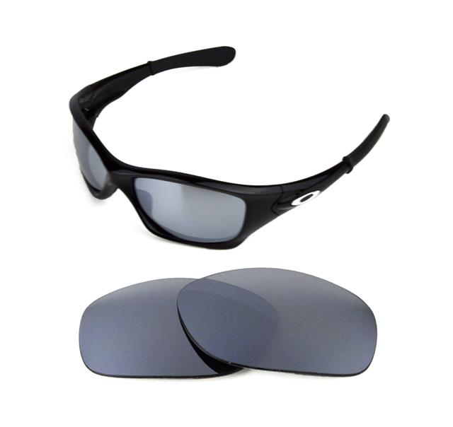 bd67ac31c1 NEW POLARIZED REPLACEMENT SILVER ICE LENS FOR OAKLEY PIT BULL SUNGLASSES