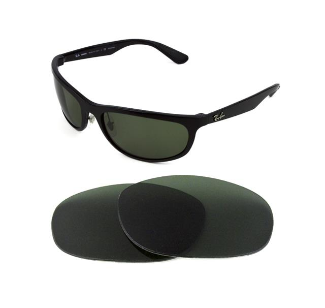 7798e0c22d NEW POLARIZED REPLACEMENT NIGHT VISION LENS FIT RAY BAN RB4075 61MM ...