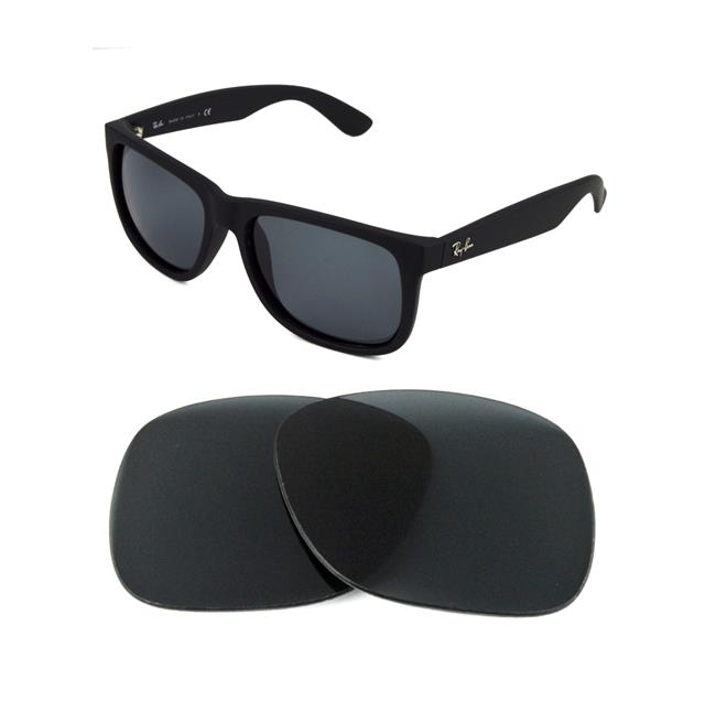 672a6dee68 Details about NEW POLARIZED REPLACEMENT GREEN LENS FIT RAY BAN 4165 JUSTIN  54mm SUNGLASSES