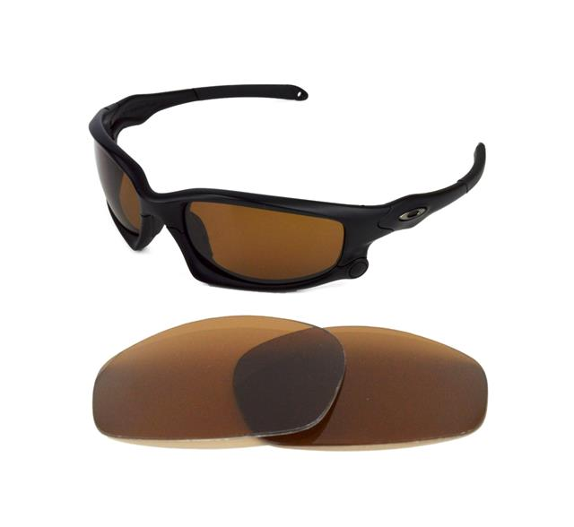NEW POLARIZED REPLACEMENT BRONZE LENS FOR OAKLEY SPLIT JACKET SUNGLASSES 13d2ebc0e2c4