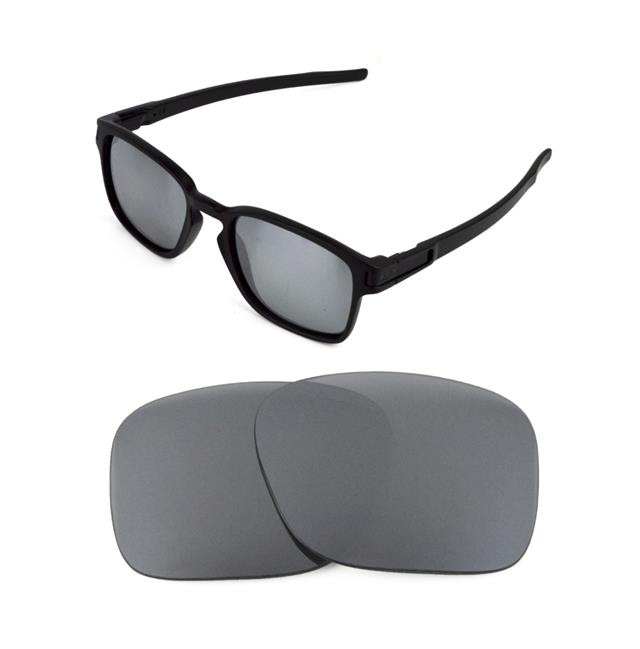 4a62a16901 NEW POLARIZED CUSTOM SILVER ICE LENS FOR OAKLEY SQUARE LATCH SUNGLASSES