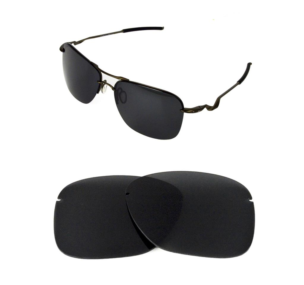 d4ded6a18a6ad NEW POLARIZED BLACK REPLACEMENT LENS FOR OAKLEY TAILPIN SUNGLASSES ...