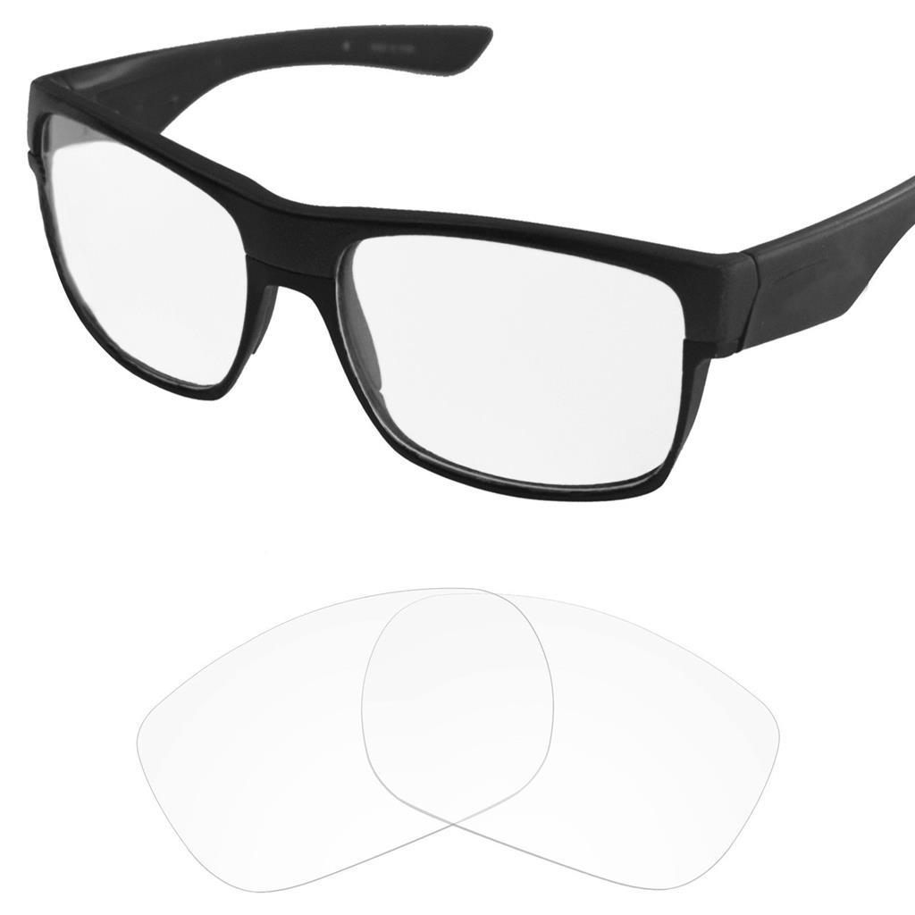 2.0mm Thickness Polarized Replacement Lenses Fire Red for Straight Jacket 1999