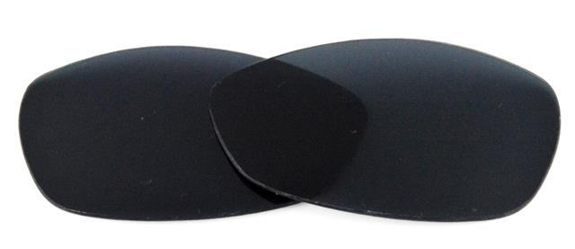 NEW POLARIZED BLACK REPLACEMENT LENS FOR OAKLEY VINTAGE WIRETAP SUNGLASSES 5878d7b04181