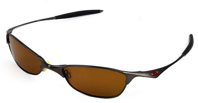 a3888458cc NEW POLARIZED BRONZE REPLACEMENT LENS FOR OAKLEY VINTAGE WIRETAP SUNGLASSES