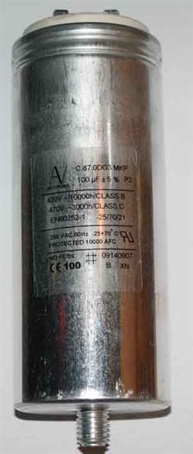 ELECTRONICON  262.633-11440  MKP 15μF  Un-400VAC; Ui-1000VAC Capacitor
