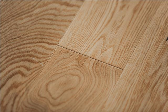 Engineered Oak Wood Flooring 15mm Thick 127mm Wide Natural Clear