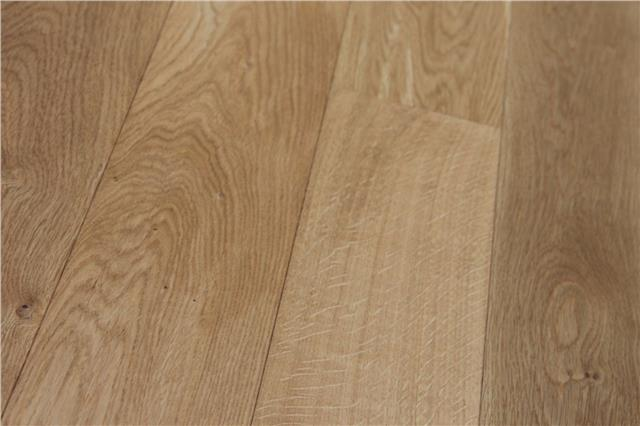 Real Solid Oak Flooring Clear Lacquered 18mm X 125mm Hardwood Floors