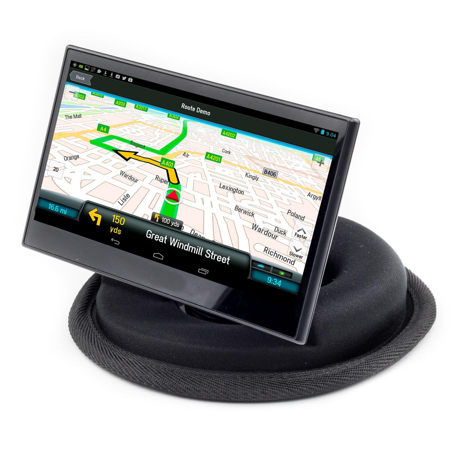 car dashboard beanbag mount for garmin drive driveassist drivesmart 50 51 52 55 ebay. Black Bedroom Furniture Sets. Home Design Ideas