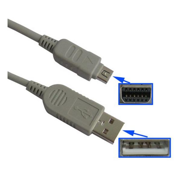 Para olympus stylus 850 SW 1000 1200-USB cable data cable