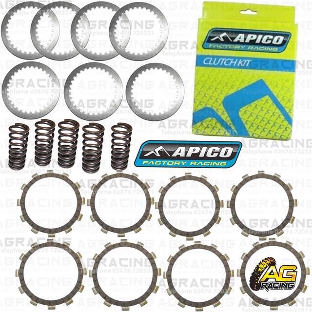 Apico Clutch Kit Steel Friction Plates /& Springs For KTM SX 125 2008 Motocross