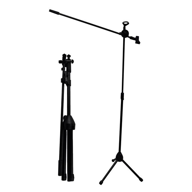 Professional Boom Microphone Mic Stand Holder Height Angle
