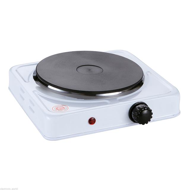 Electric Hot Plate ~ Portable single electric hot plate hob kitchen cooker
