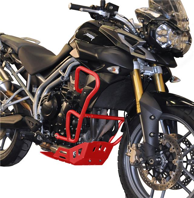 R/&G MOTORCYCLE ADVENTURE//CRASH BARS FOR TRIUMPH TIGER 800 2011