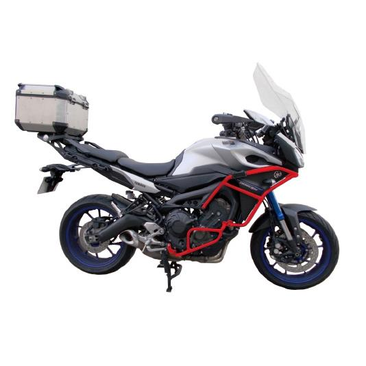 Crosspro Red Engine Guards Crash Bars Yamaha Mt09 Tracer 900 Mtn850 2015 Ebay
