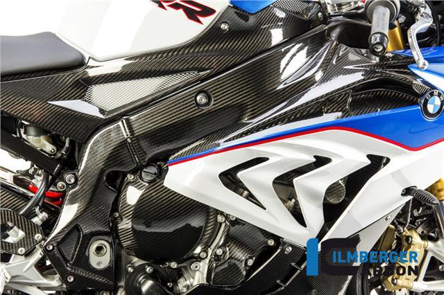 Ilmberger GLOSS Carbon Fibre Left Frame Cover Protector BMW S1000RR 2016