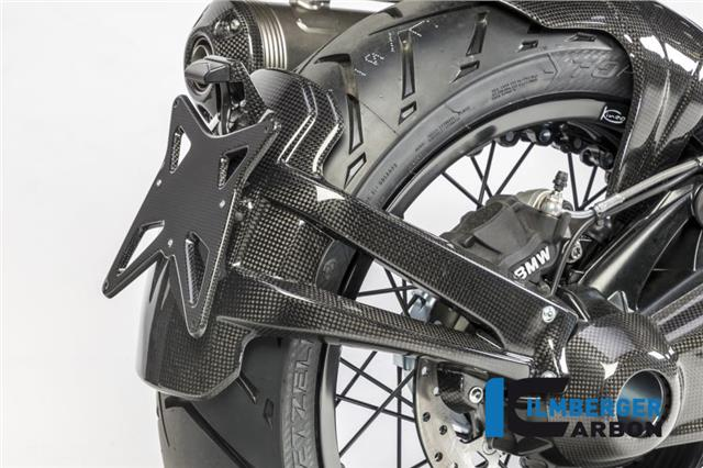 Details About Ilmberger Gloss Carbon Rear Number Plate Splash Guard Bmw R Nine T Urban Gs 2017