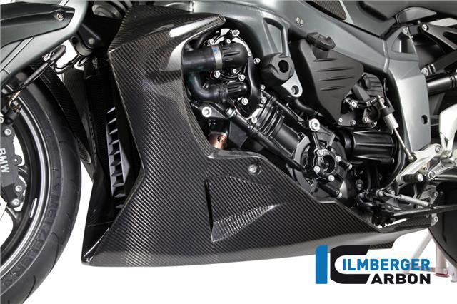 Ilmberger Gloss Carbon Fibre Bellypan Lower Bikini Fairing Kit Bmw