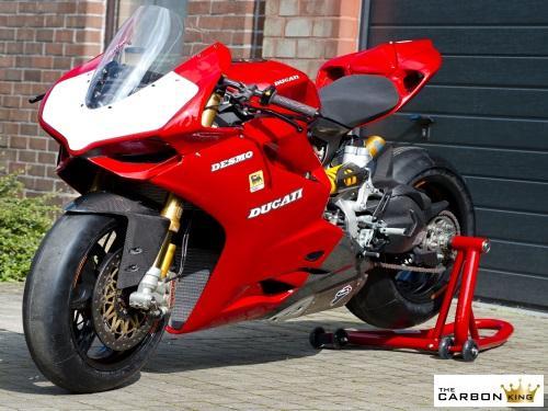Ducati 899 959 1199 1299 Panigale Carbon Fibre Front Mudguard Fender