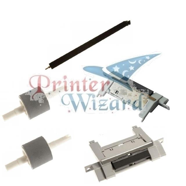 HP LaserJet P3015 P3015D P3015N P3015DN Maintenance Roller Kit with Instructions