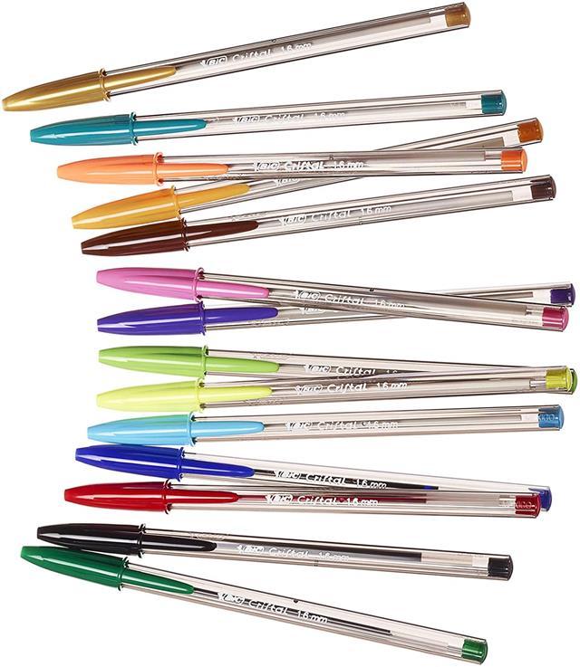 Bic Stationery Gelocity Highlighter Cristal Intensity Fine liner Ballpoint Pen