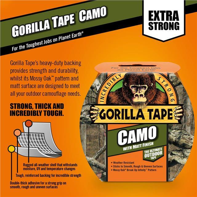 Gorilla-Super-Glue-Precision-Gel-Epoxy-Adhesive-Heavy-Duty-Tape miniature 75