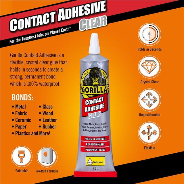 Gorilla-Super-Glue-Precision-Gel-Epoxy-Adhesive-Heavy-Duty-Tape miniature 52