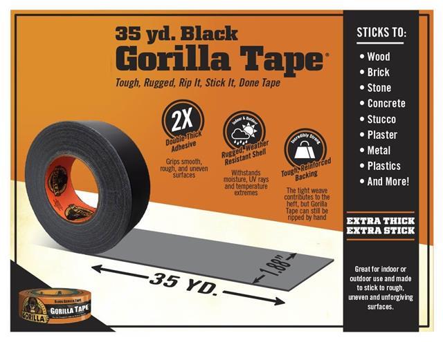 Gorilla-Super-Glue-Precision-Gel-Epoxy-Adhesive-Heavy-Duty-Tape miniature 81