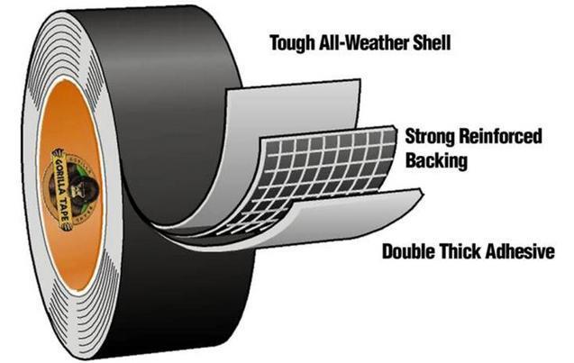 Gorilla-Super-Glue-Precision-Gel-Epoxy-Adhesive-Heavy-Duty-Tape miniature 82