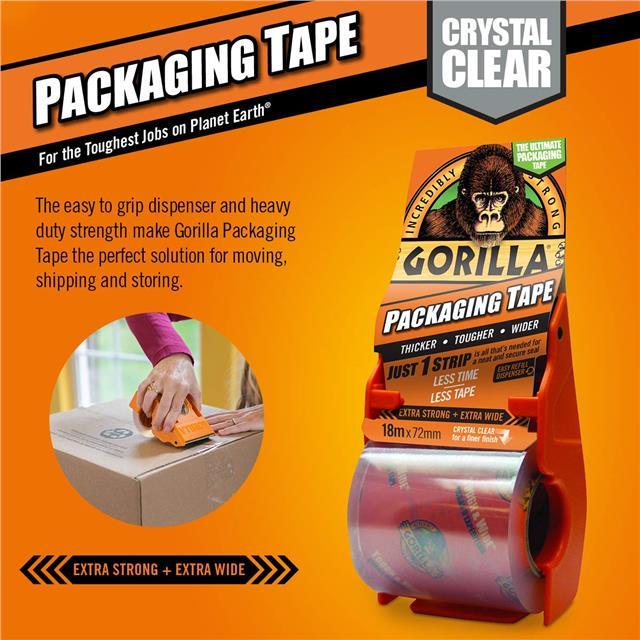 Gorilla-Super-Glue-Precision-Gel-Epoxy-Adhesive-Heavy-Duty-Tape miniature 71