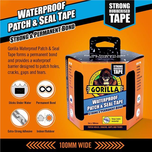 Gorilla-Super-Glue-Precision-Gel-Epoxy-Adhesive-Heavy-Duty-Tape miniature 69