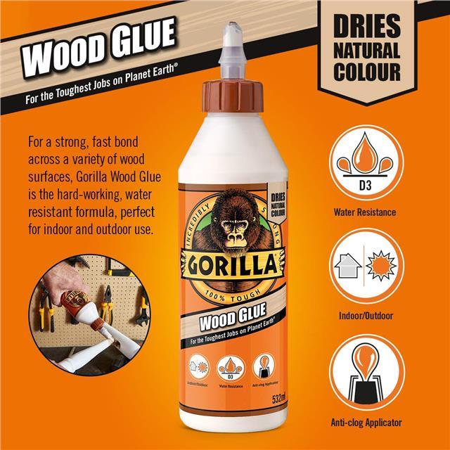 Gorilla-Super-Glue-Precision-Gel-Epoxy-Adhesive-Heavy-Duty-Tape miniature 35