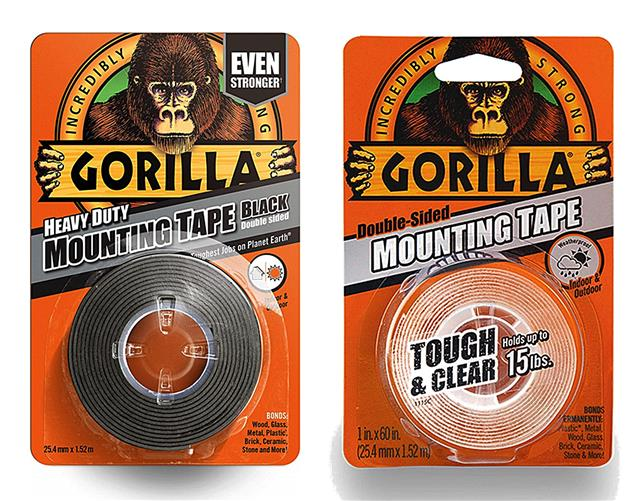 Gorilla Mountg Tape Blk