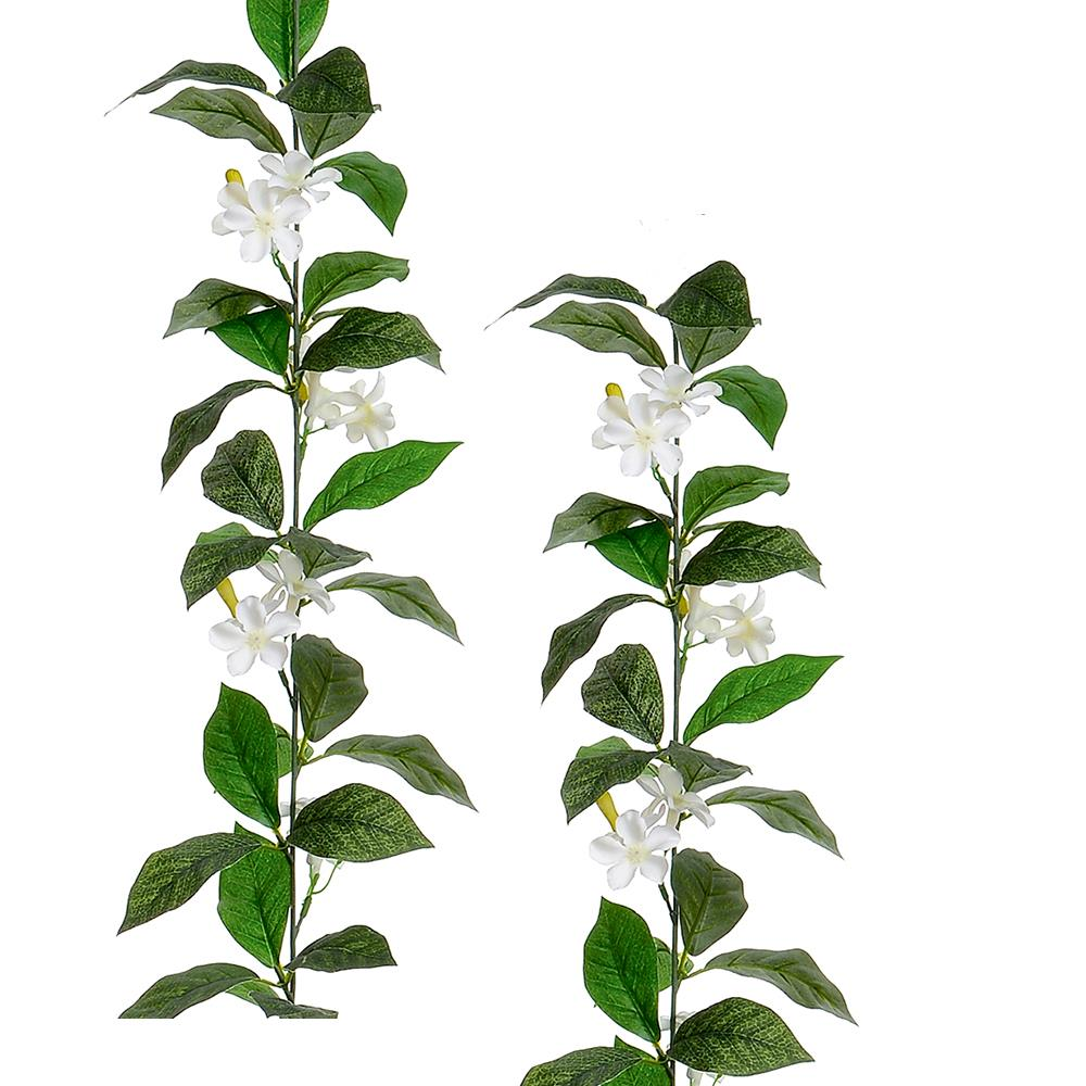 Artificial Jasmine Garland 160 Cm White Flowers By Trendy Bendy