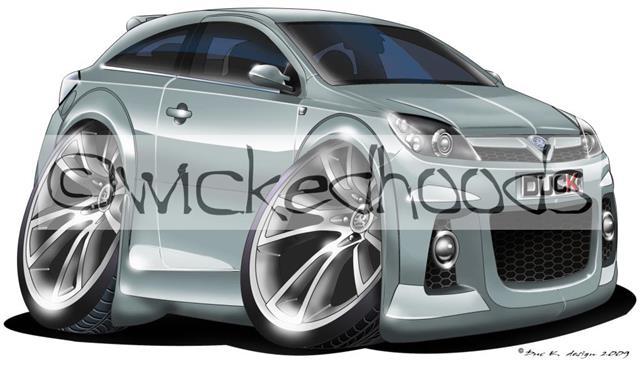 wickedhoods cartoon car hoodie vauxhall astra mk5 vxr sri sweatshirt