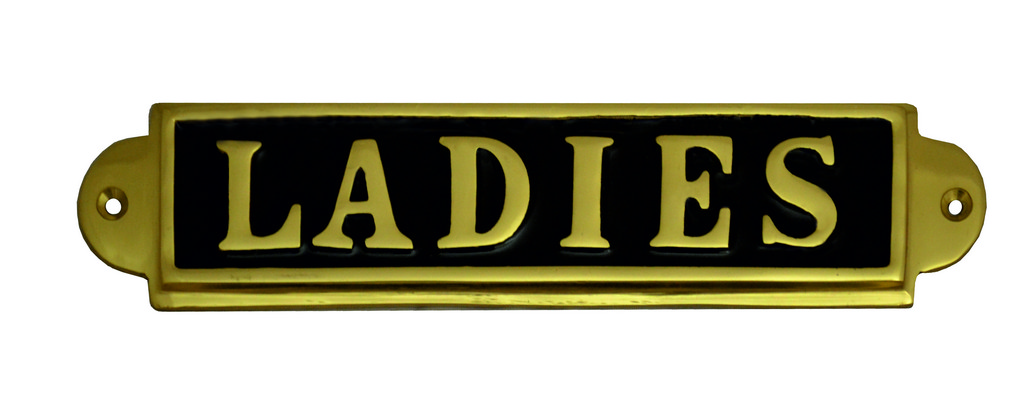7-1-4-x-2-034-Brass-Ladies-Sign-Packed-6703P