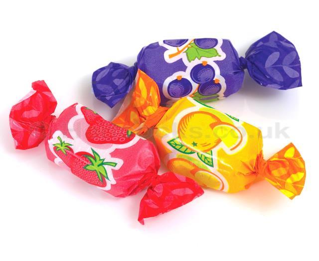 * Assorted Fruit Chews Wholesale Pick n Mix Wedding Party RETRO SWEETS & CANDY