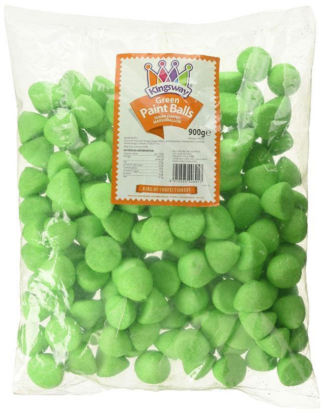 Paint Ball Marshmallow Mallow Wedding Christmas RETRO SWEETS Kids Treats Candy