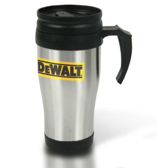 Mug Thermos Details Dewalt Stainless 400mlhandle Steel About Travel Sipper Thermal Flask WYIE92DH